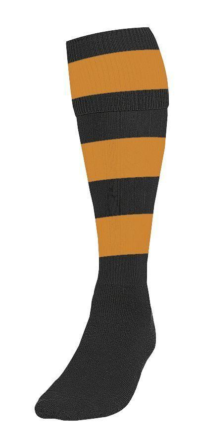 Precision Hooped Football Socks Adult