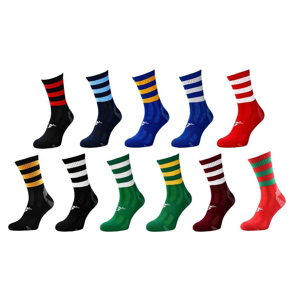 Precision Pro Hooped GAA Mid Socks Junior