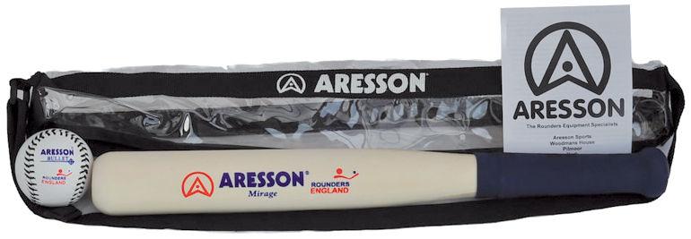 Aresson Mirage Rounders Bat & Ball Set