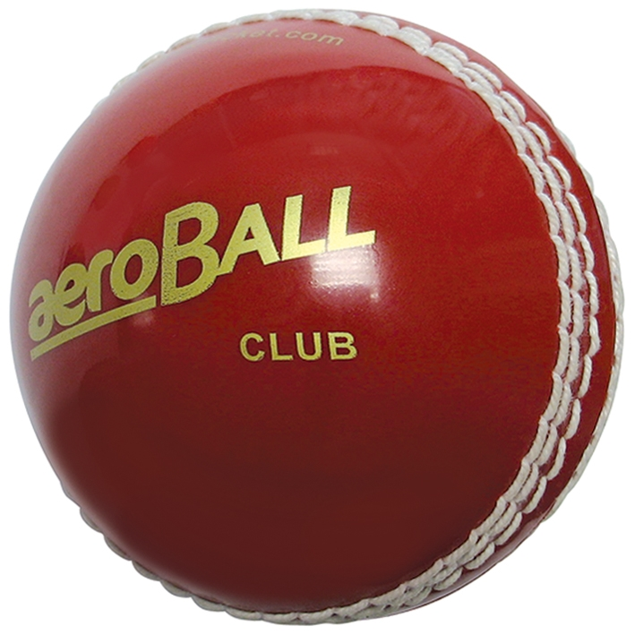 aero Club Cricket ball Blister Packed Red