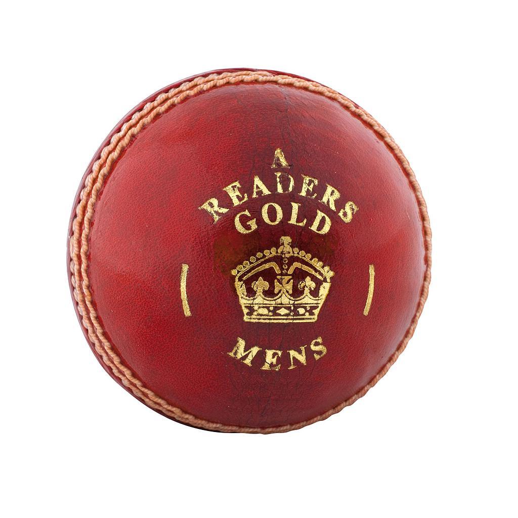 Readers Gold 'A' Cricket Ball