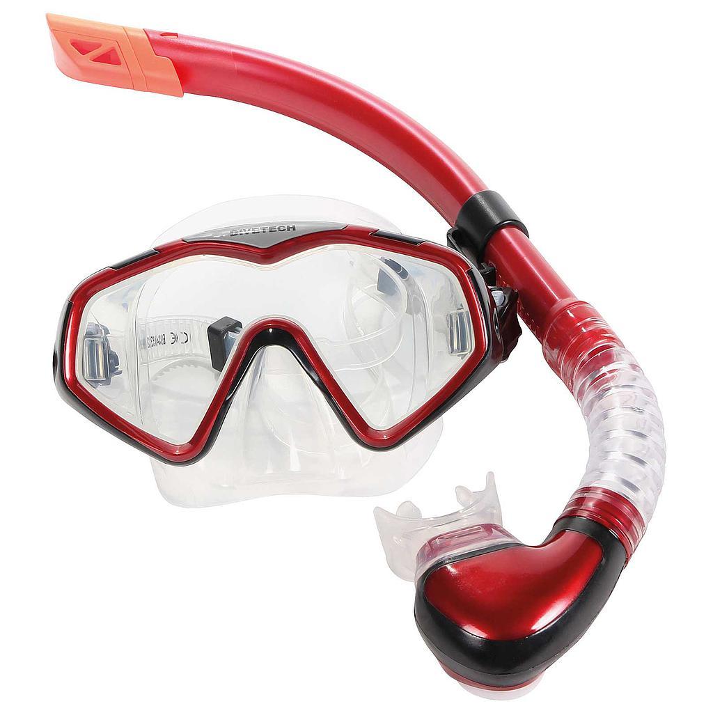 Divetech PRO Cayman Silicone Mask & Snorkel