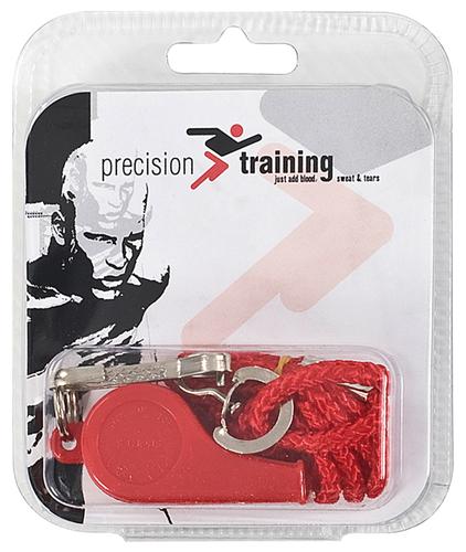 Precision Plastic Whistle & Lanyard (Box of 6)