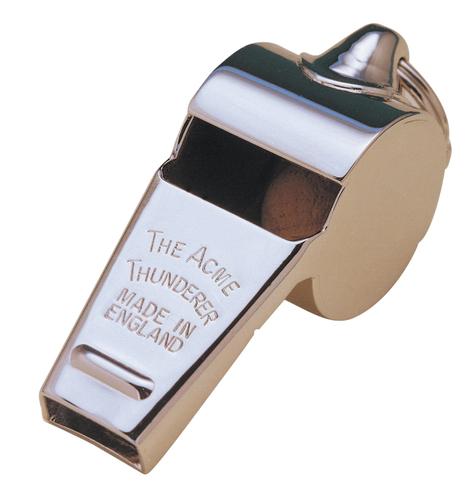 Acme Thunderer Metal Whistle LRG 58.5