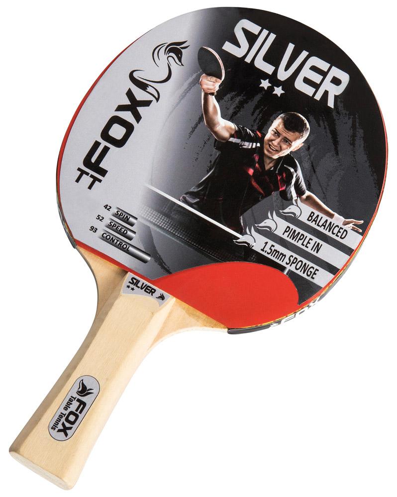 Fox TT Silver 2 Star Table Tennis Bat