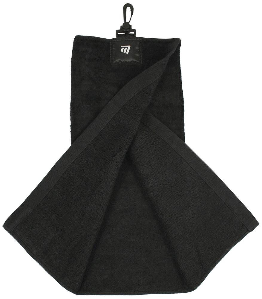 Masters Tri-Fold Towel Black