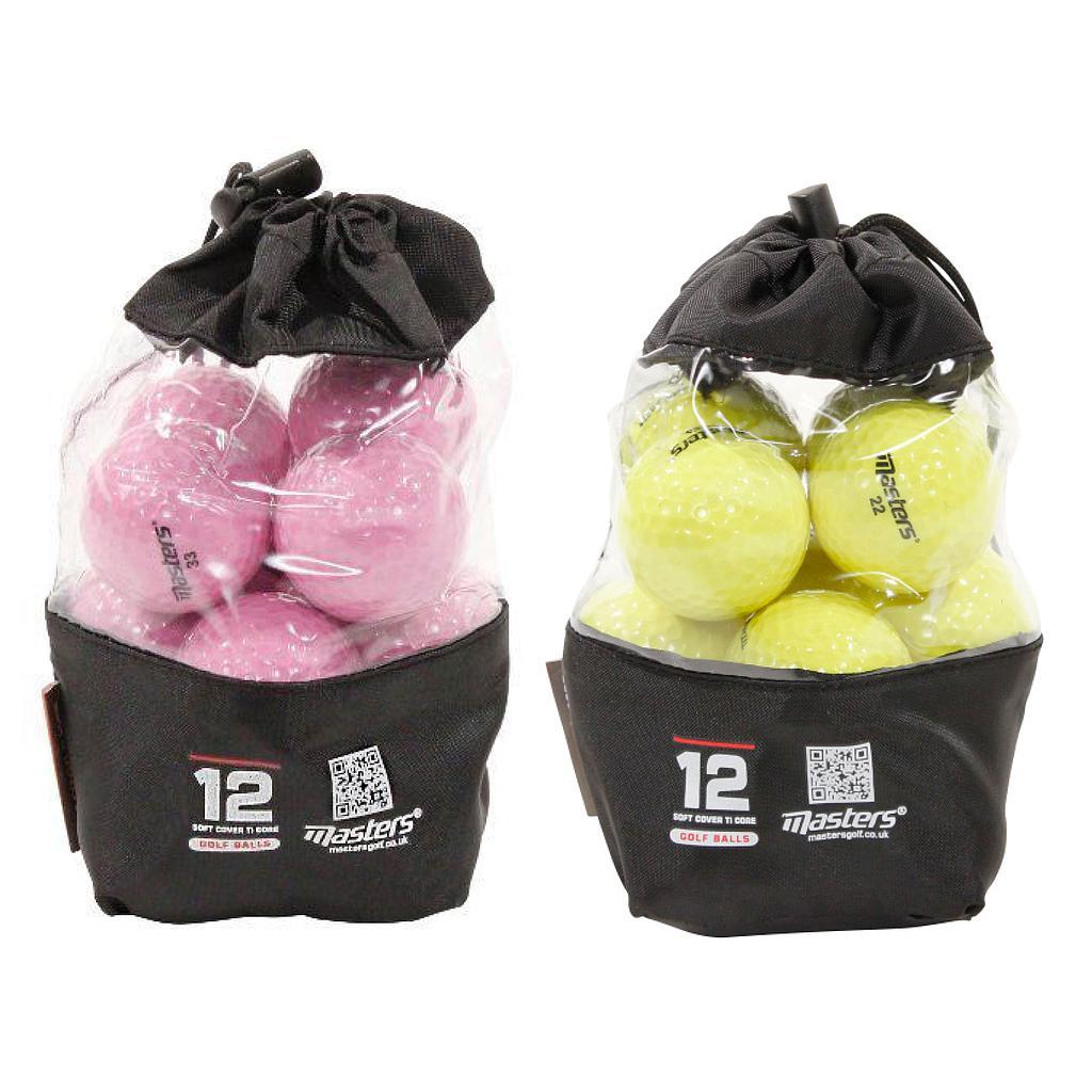 Master Titanium Golf Balls (Bag of 12)