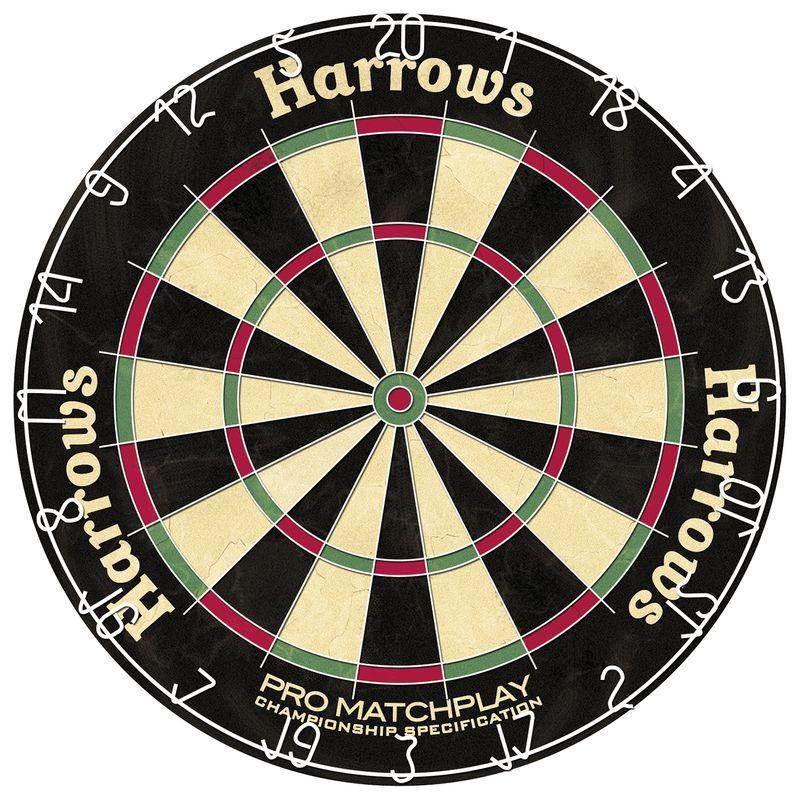 Harrows Matchplay Bristle Dart Board