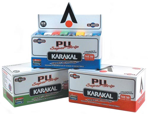 Karakal Coloured PU Super Grip (Box of 24)
