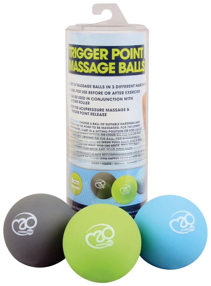 Fitness Mad Trigger Point Massage Ball Set