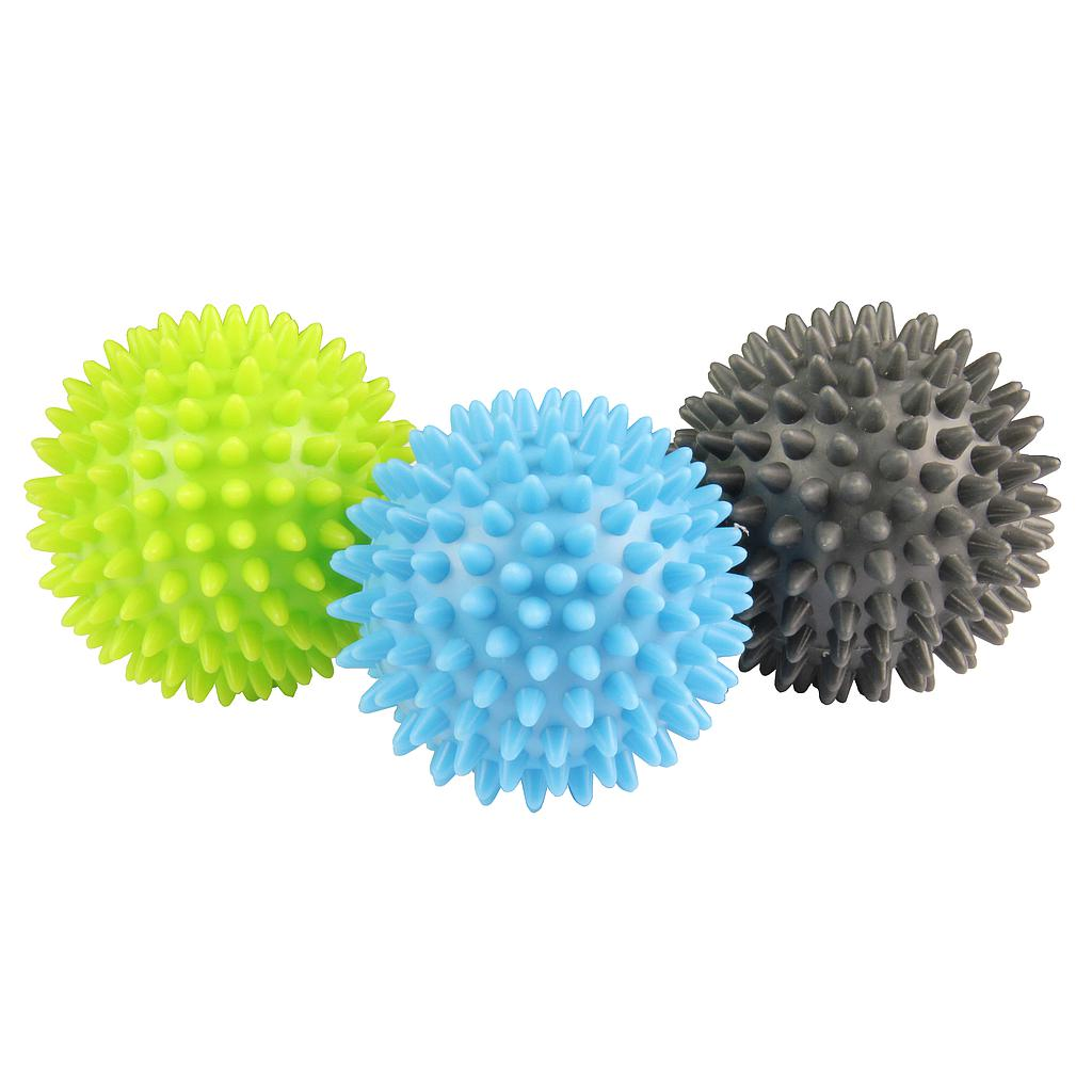 Fitness Mad Spikey Massage Ball (Set of 3)