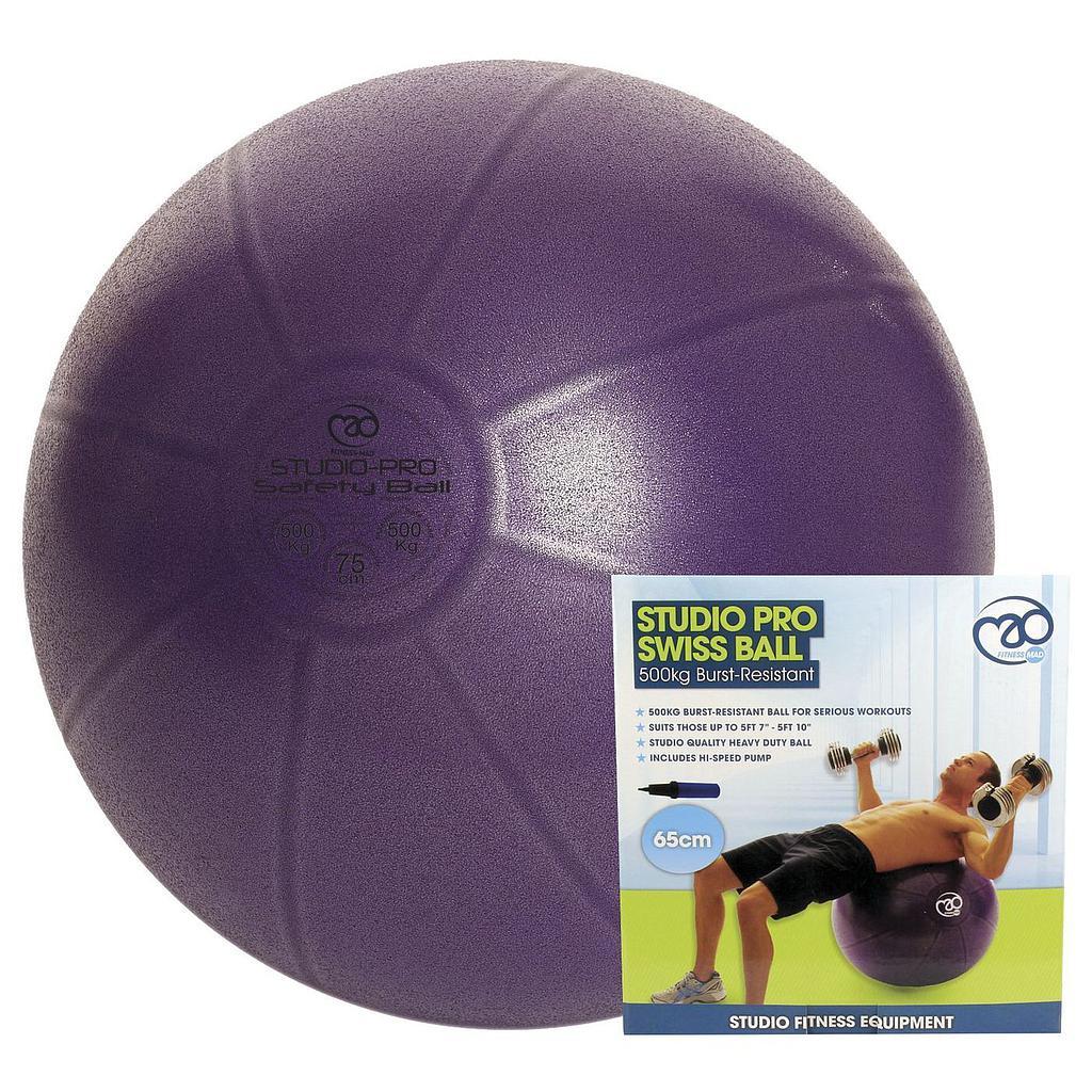 Yoga-Mad 500kg Swiss Ball & Pump