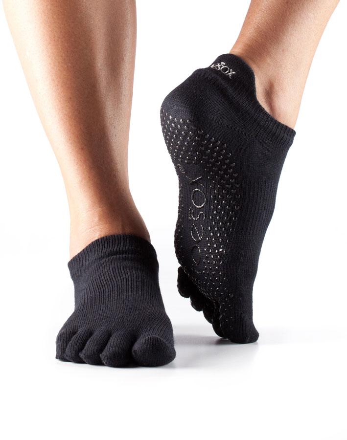 Toesox Low Rise Full Toe Socks