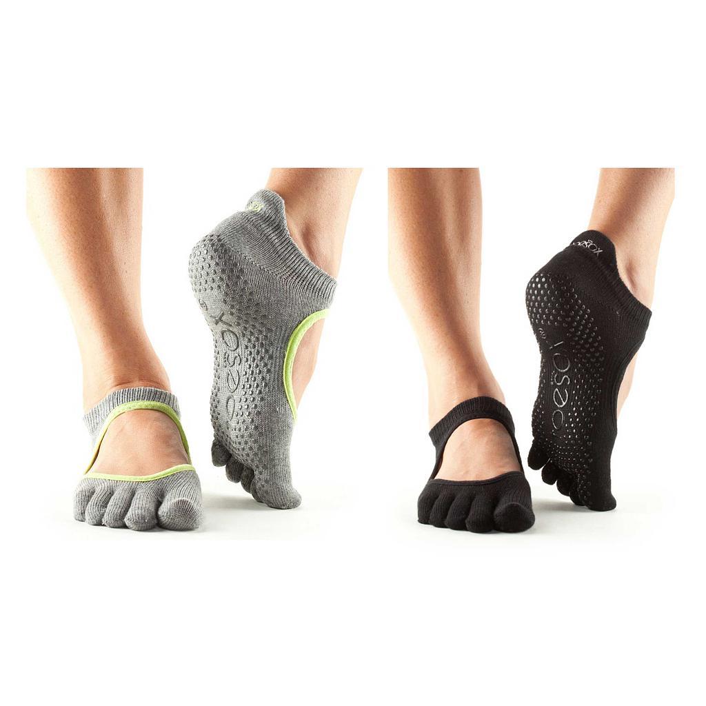 Toesox Bellarina Full Toe Non Slip Socks