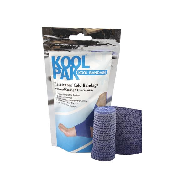 Koolpak Elasticated Cold Bandage 7.5cm x 2m