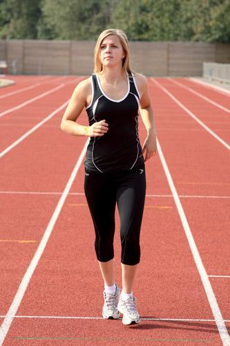 Precision Ladies Running Vest Junior