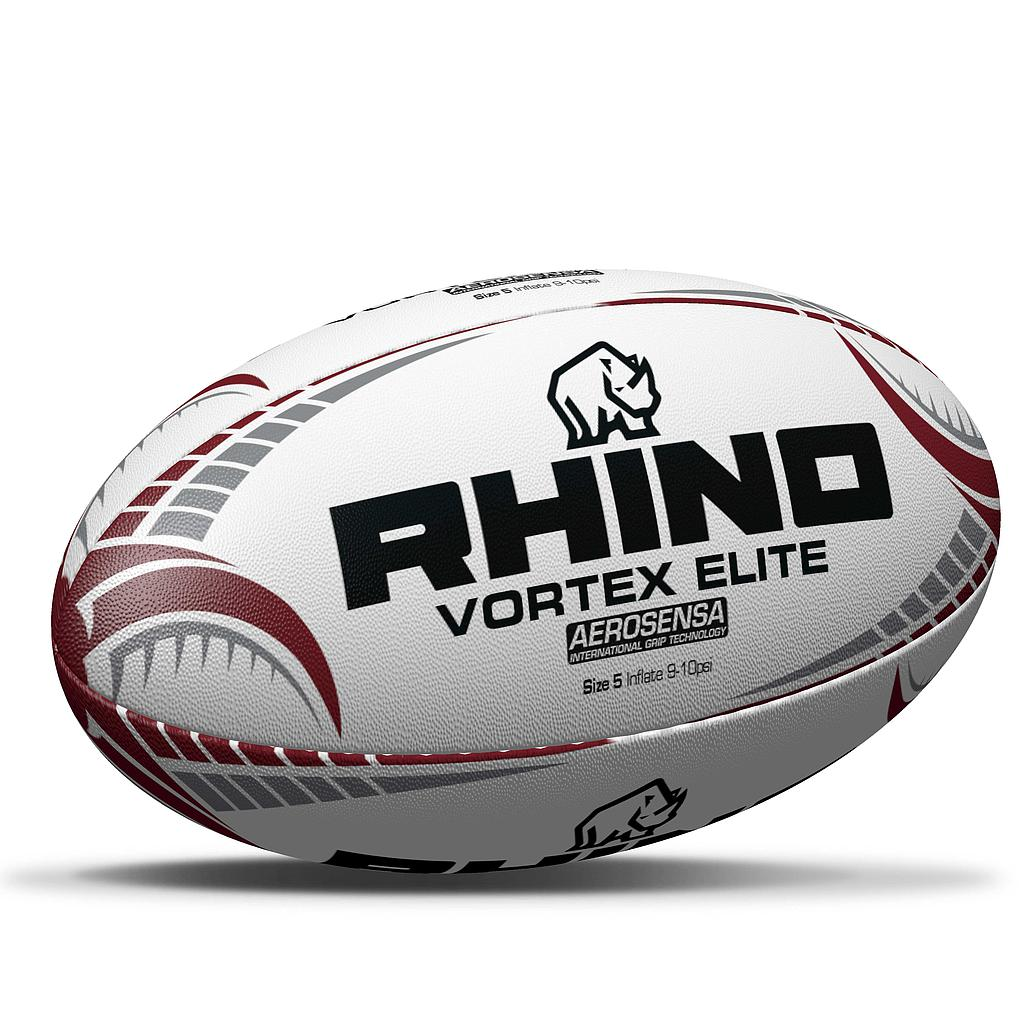 Rhino Vortex Elite Rugby Ball