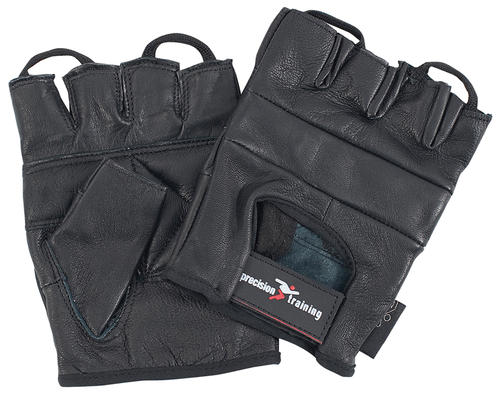 Precision Full Leather Weightlifting Gloves