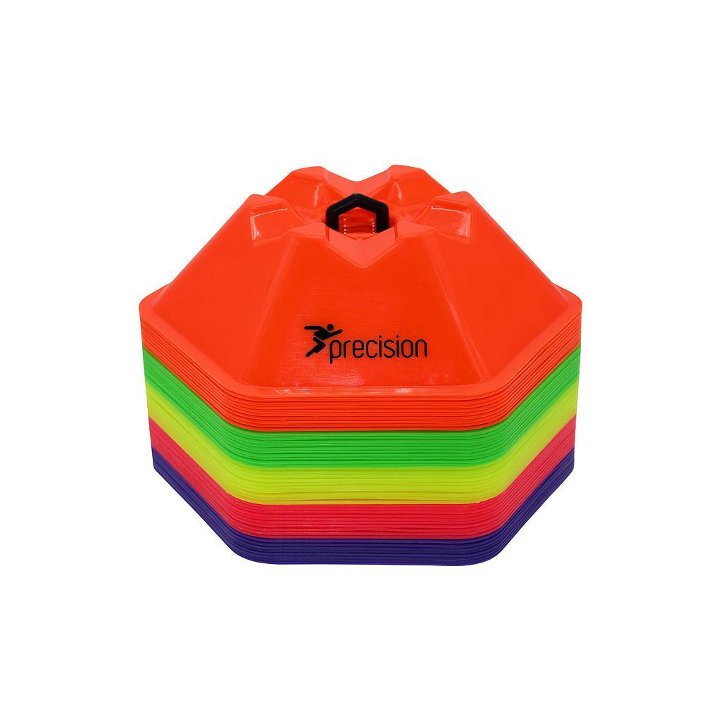 Precision Pro HX Saucer Cones : Set of 50 (Assorted)