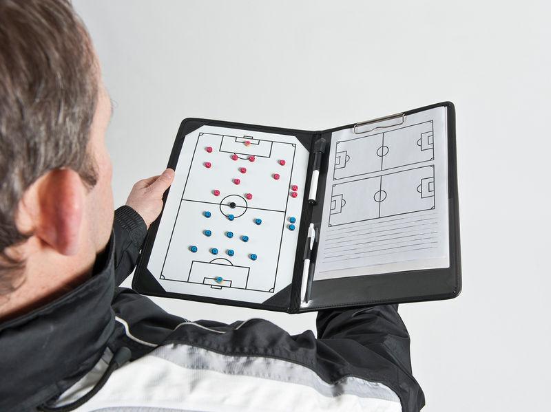 Precision Pro Soccer Coaches Tactic Folder