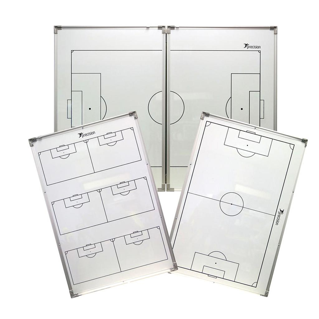"""Precision Double-Sided """"Folding"""" Soccer Tactics Board"""
