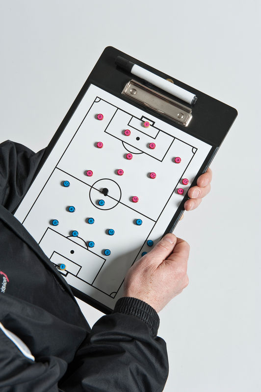 Precision Soccer Coaches Double-Sided Clipboard
