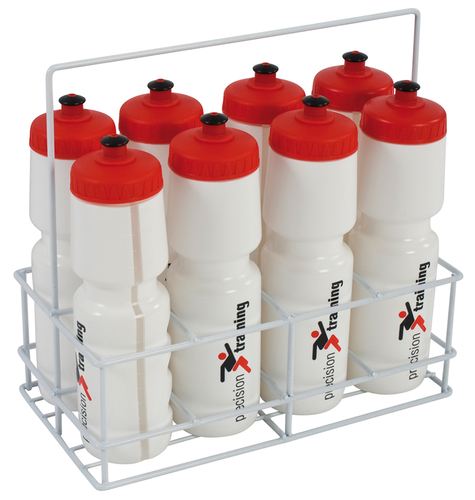 Precision 8 Water Bottles & Wire Carrier