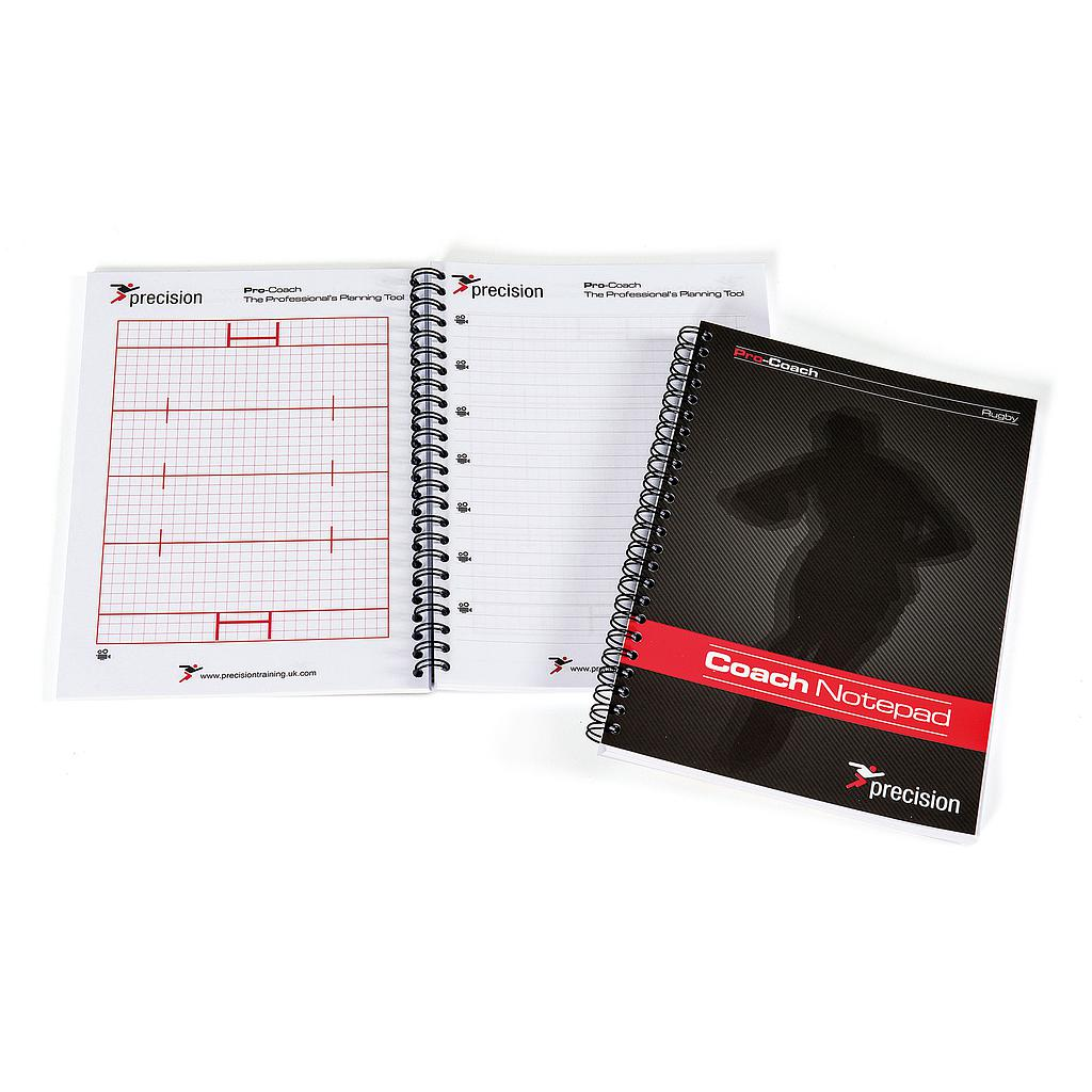 Precision A5 Rugby Union Pro-Coach Notepad (Pack 6)
