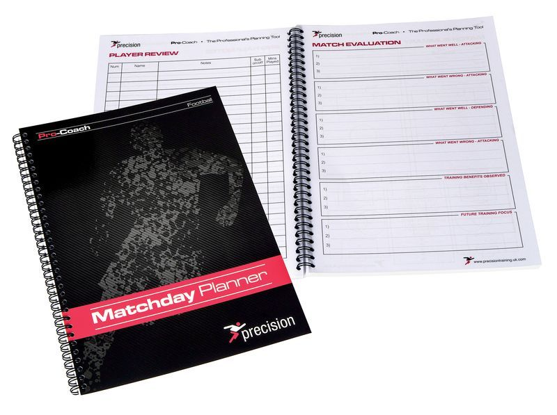 Precision A4 Football Match Day Planner (Single)