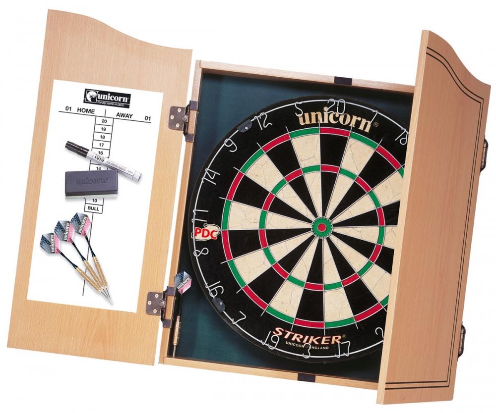 Unicorn Striker Home Dart Center inc 2 Sets of Darts