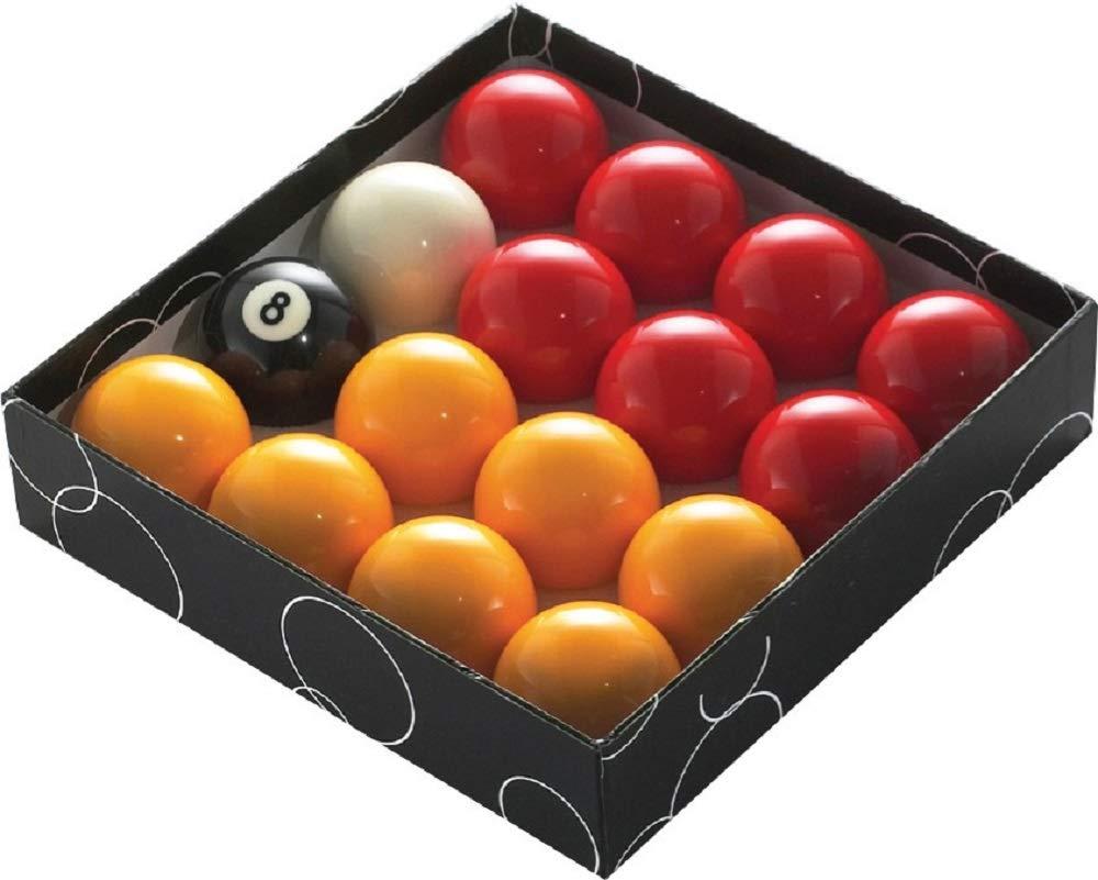 PowerGlide Pool Balls Red/Yellow