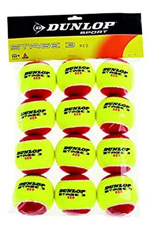 Dunlop Mini Tennis Balls Red