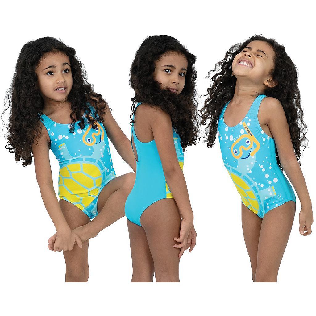 Speedo Tommy Turtle Crossback Swimsuit Infants