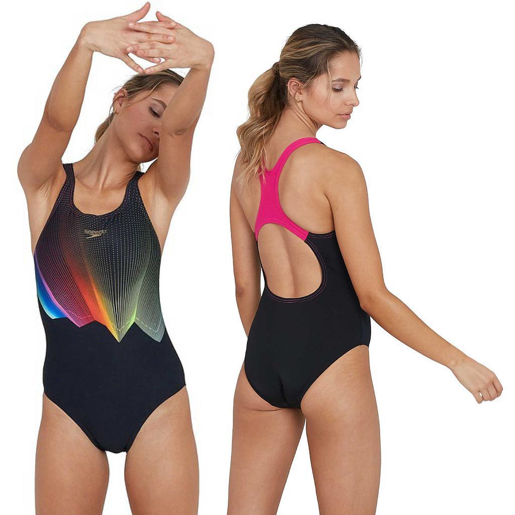 Speedo ColourGlow Medalist Swimsuit