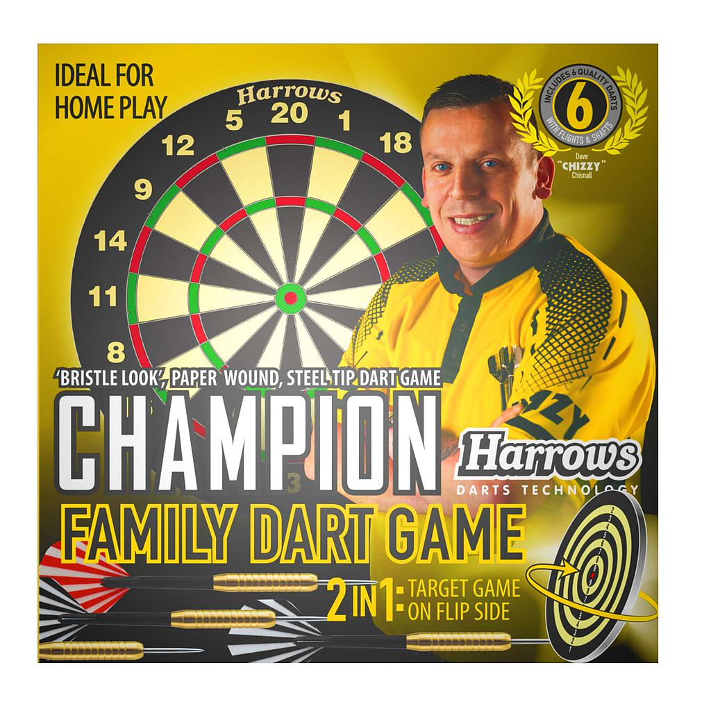 Harrows Chizzy Champion Family Dart Game