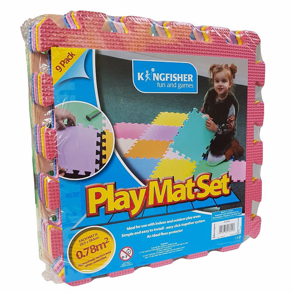 Kingfisher Play Mat Set