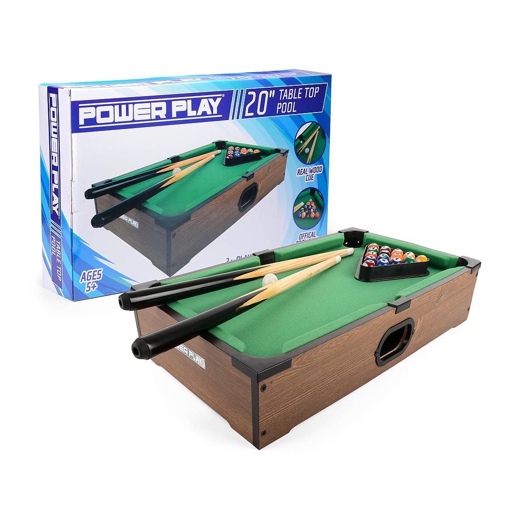 "Powerplay 20"" Pool Table Game"