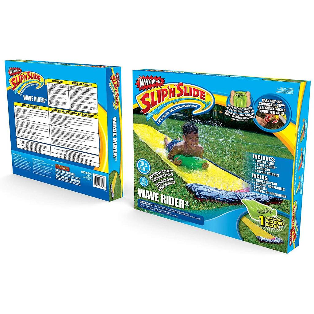 Wham-o 16ft Slip 'N Slide Wave Rider Water Slide