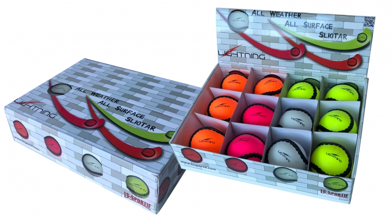 LS Sportif Lightning All Weather - All Surface Sliotar (Box of 12)