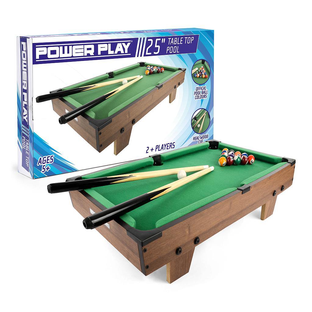 "Powerplay 25"" Pool Table Game"